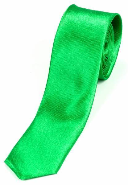 Motto-Krawatte Schlips neon Green Einfarbig Klassik Gift Grün