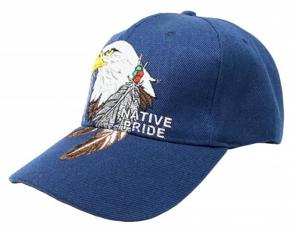 Herren Damen Base Cap blau Schirm Mütze Motiv