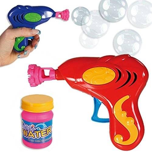 20x Seifenblasen-Pistole Bubble Set mit Seifen-Lauge