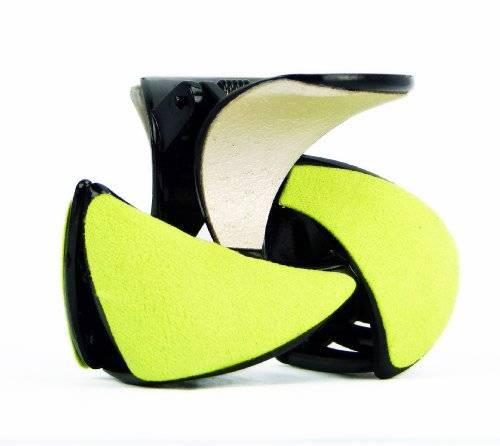 Haarklammeren Haarkrallen - Twist - viele Farben 5cm 8/1 (gelb)