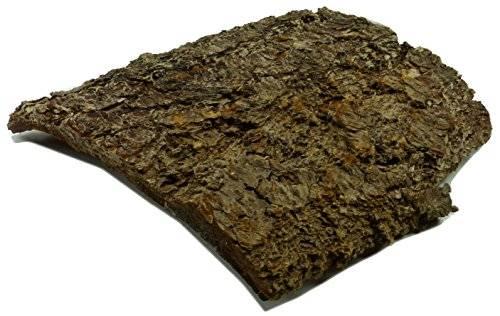 neuer unbehandelter Unterschlupf aus Holz perfekt für Aquarium und Terrarium Rinde XL1