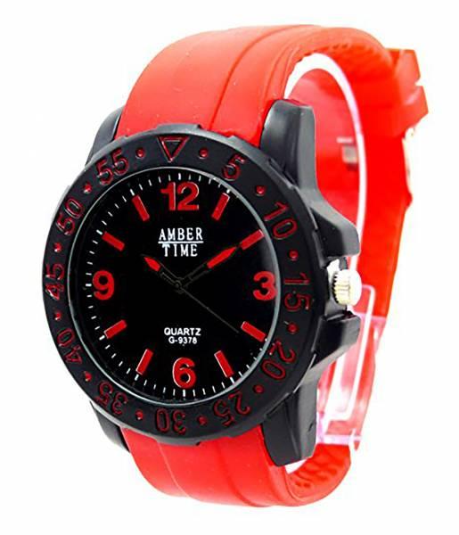 hochwertige Designer Piloten Armbanduhr DG Trendit Red Amber