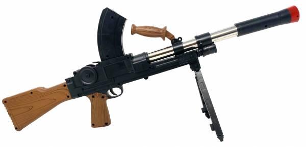 Softair Gewehr Airsoft Rifle 65cm 0,49 Joule Black