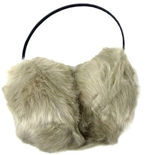 hochwertige Ohrwärmer flauschig weich und stabil in vielen Farben (braun)