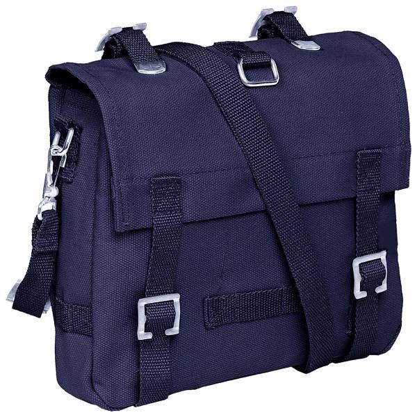 Bundeswehr Kampf-Tasche klein marine blau Tasche Militär-Taschen Herren Damen hochwertige Universal Transport-Taschen Reise-Tasche Überlebens-Rucksack Einzelkämpfer Tasche small 5268