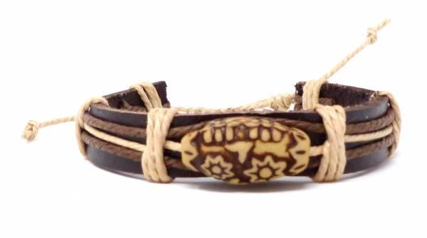Armband Herren Damen Leder-Armbänder Handmade - sunny