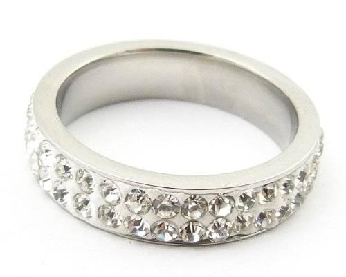 Ring 2900 silber Ringe edler WOW Strassring, hochwertig veredelt S2 GRÖSSE (17)