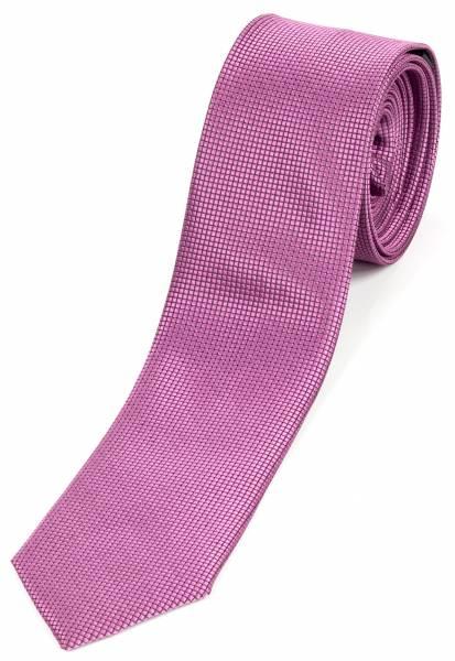 Motto-Krawatte Schlips Lila Einfarbig Klassik Violett