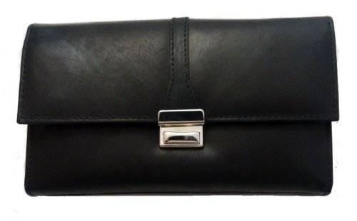 Kellnerbörse Leder 18,5 cm (schwarz)