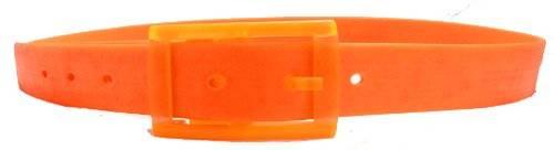 hochwertiger Silikon Gürtel flexibel einstellbar ORANGE
