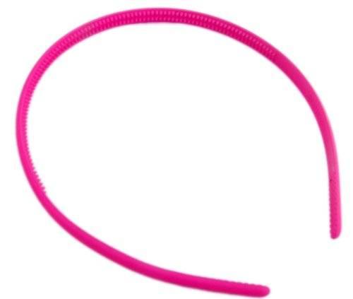 Haareifen 3479 Haar-Reif Haar Klammer viele Modelle - tolle Farben extra schmal (pink)