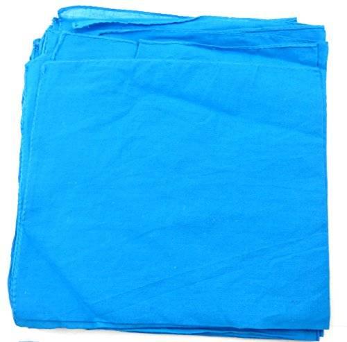 viele Schals-Herren-Schal-Damenschals-Stofftücher-Bandana-Tücher für Sie und Ihn (türkies)