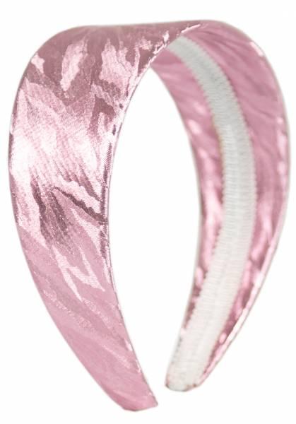 Haar-Reif Damen Haarreifen Haar-Spange Haarreifen im edlen Glanz Haar-Reifen (pink) 4416