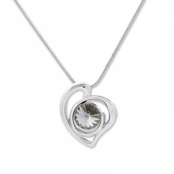 Tillberg-Halskette mit Swarovski-Kristallen besetzt Damen-Collier edles Woman-Necklace Collier Set with Swarovski-Crystals