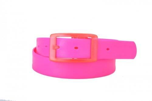Gürtel Silikon Pink - einfach zu Kürzen