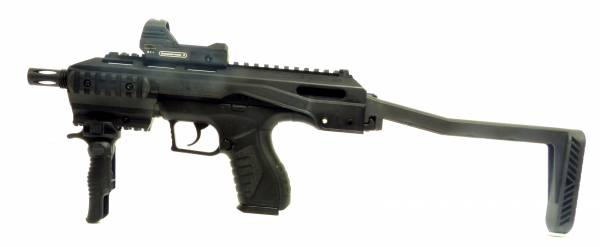 Softair Gun Combat Zone Pistole Enforcer Tac Kit Gewehr Set <0,5 Joule