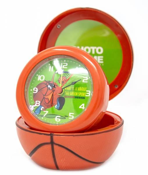 Tisch Uhr Reise Wecker Basketball