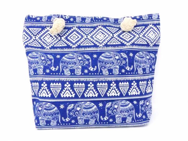 Style Damen-Tasche Schulter Strand-Taschen Stern-Motiv blau