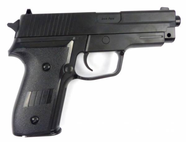 Softair-Pistole max. Power 0,5J Spielzeug-Waffe Air-Soft Gun Federdruck-Sports Weapon