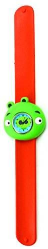 Uhren 2061 Kinder-Uhr Damen Uhr mit Slap Armband aus Silikon viele Modelle (Hippo-rot)