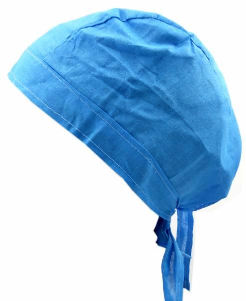 Kopftuch 4402 Kopftuecher Blue Bandanas Headscarf Bandannas für Kinder und Erwachsene (türkis)